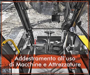 Addestramento all'uso di Macchine e Attrezzature